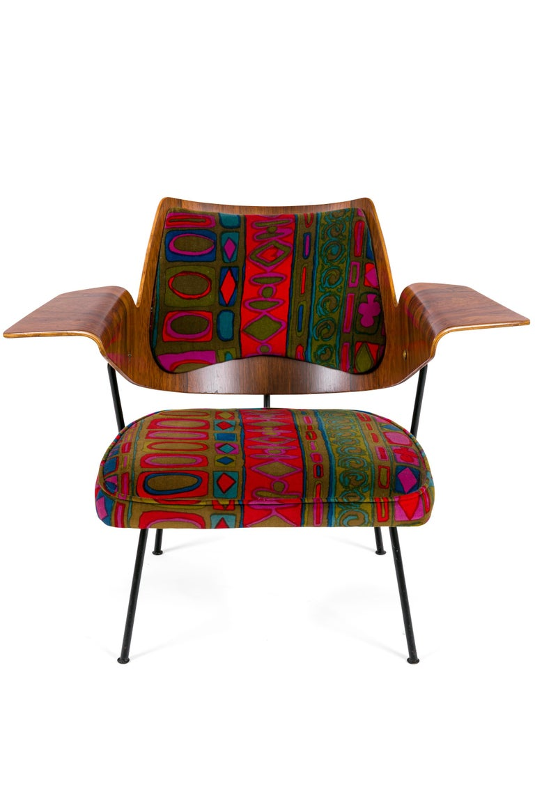 Mid-Century Modern Robin Day Royal Festival Hall Lounge Chair, England, 1951 For Sale