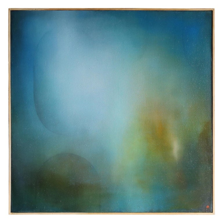 Robin Harker Abstract Expressionist Painting For Sale