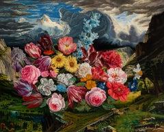 """Sonata Duodecima"" Oil Painting"
