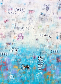 Beauty Beyond the Surface, Mixed Media on Canvas