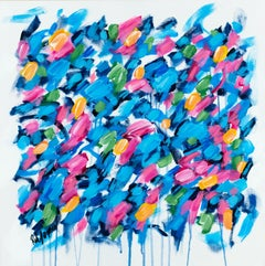 Blue Crush, Painting, Acrylic on Canvas