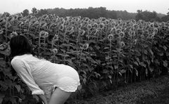 Shira, Smelling Flowers, Huntingfield Creek Inn, Rock Hall, MD. 2013