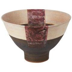 Große Studio-Keramik Schale, Robin Welch, 20. Jahrhundert