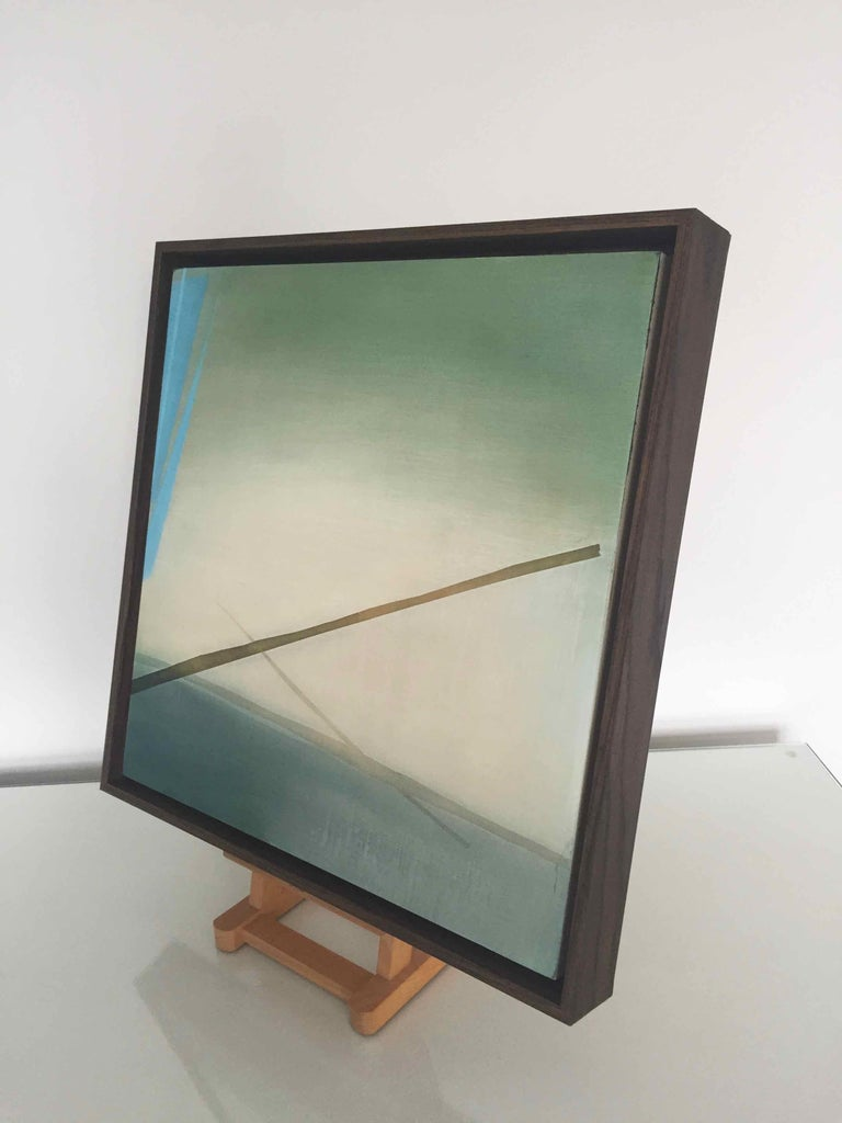 The Fog Sticks Around: Atmospheric Oil Painting, Robinson McMahon Collaboration For Sale 4