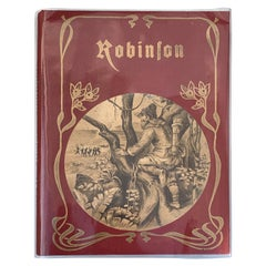 Robinson Book by Joachim Heinrich Campe, 1835