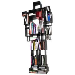 Robox Gray Freestanding Bookshelf by Fabio Novembre