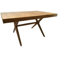 Robsjohn Gibbings Dining Table with Two Leaves
