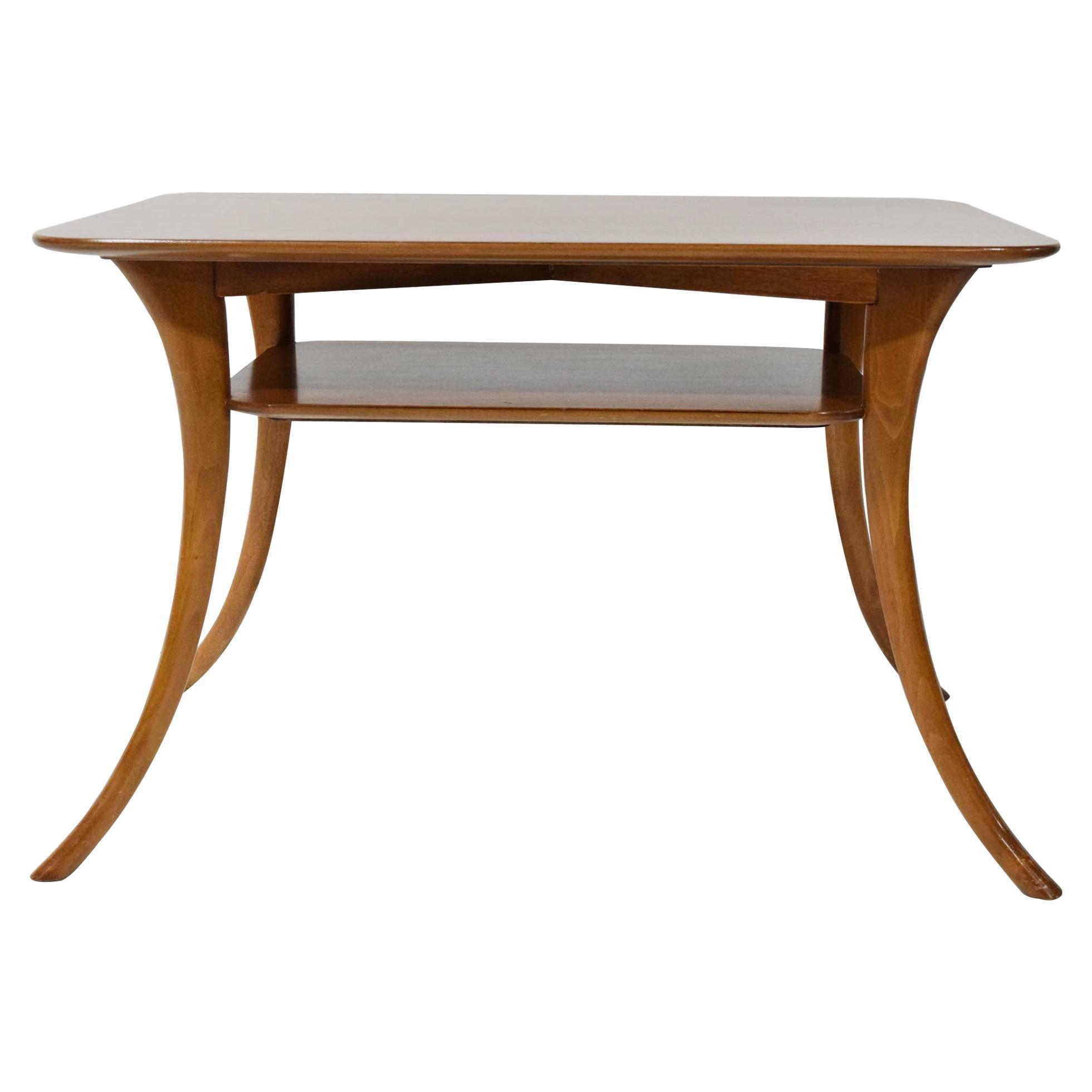 Robsjohn-Gibbings for Widdicomb Klismos Leg Side or Cocktail Table