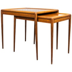 Robsjohn-Gibbings for Widdicomb Mid-Century Modern Nesting Tables
