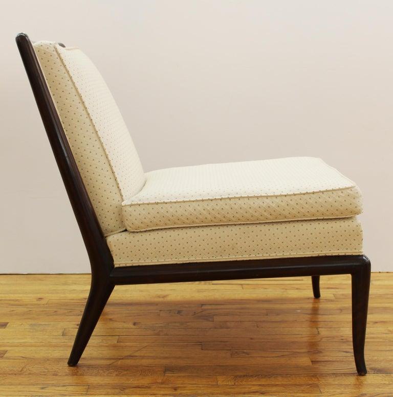 Robsjohn-Gibbings for Widdicomb Mid-Century Modern Slipper Chairs In Good Condition For Sale In New York, NY
