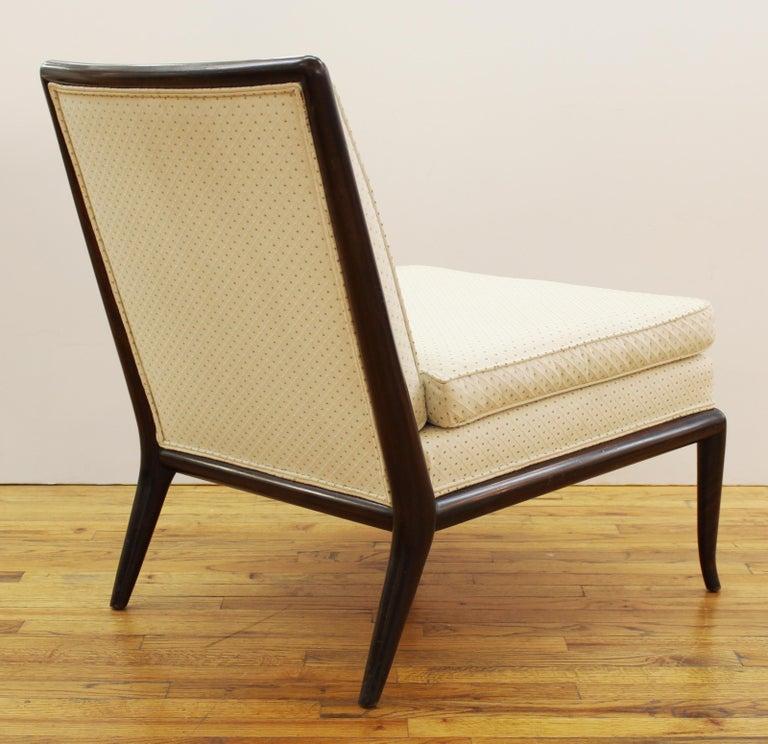 Mid-20th Century Robsjohn-Gibbings for Widdicomb Mid-Century Modern Slipper Chairs For Sale