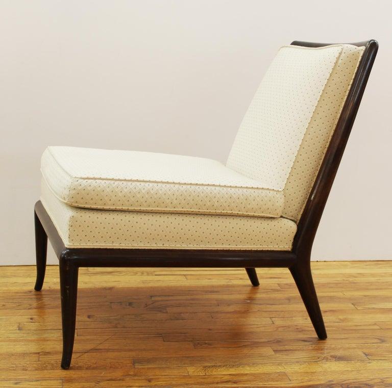 Robsjohn-Gibbings for Widdicomb Mid-Century Modern Slipper Chairs For Sale 1