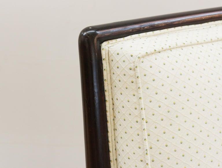 Robsjohn-Gibbings for Widdicomb Mid-Century Modern Slipper Chairs For Sale 2