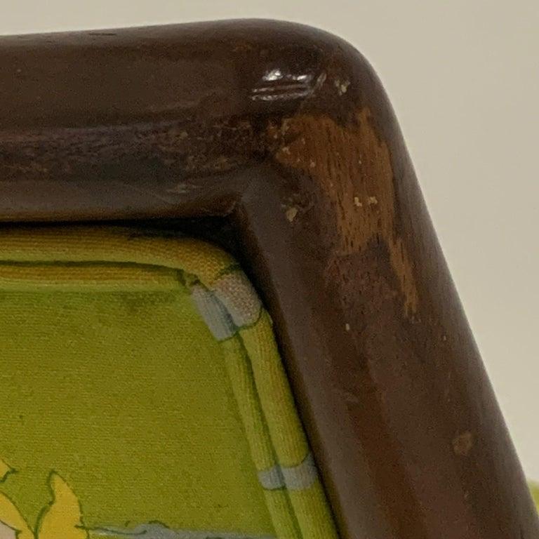 Robsjohn Gibbings for Widdicomb Model 2024 Lounge Chair w. Whimsical Upholstery For Sale 3