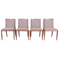 Robsjohn-Gibbings for Widdicomb Saber Leg Dining Chairs, Set of Four