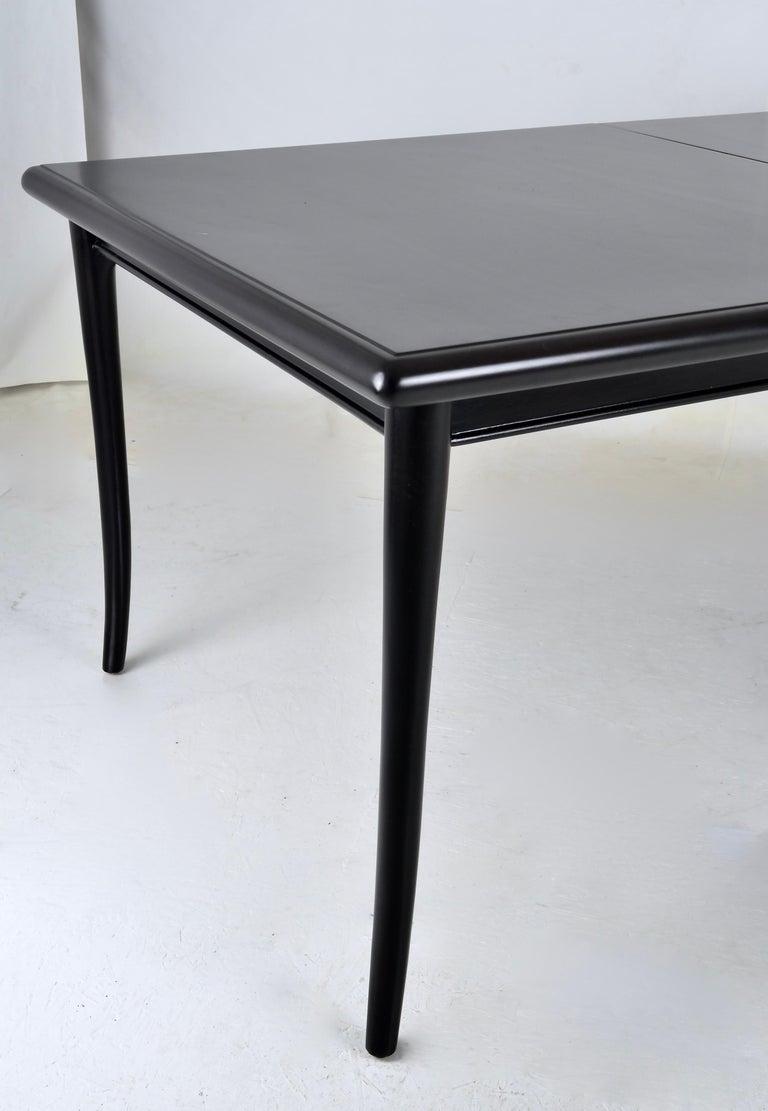 Mid-20th Century Robsjohn-Gibbings for Widdicomb Sabre Leg Dining Table, USA, 1950s For Sale