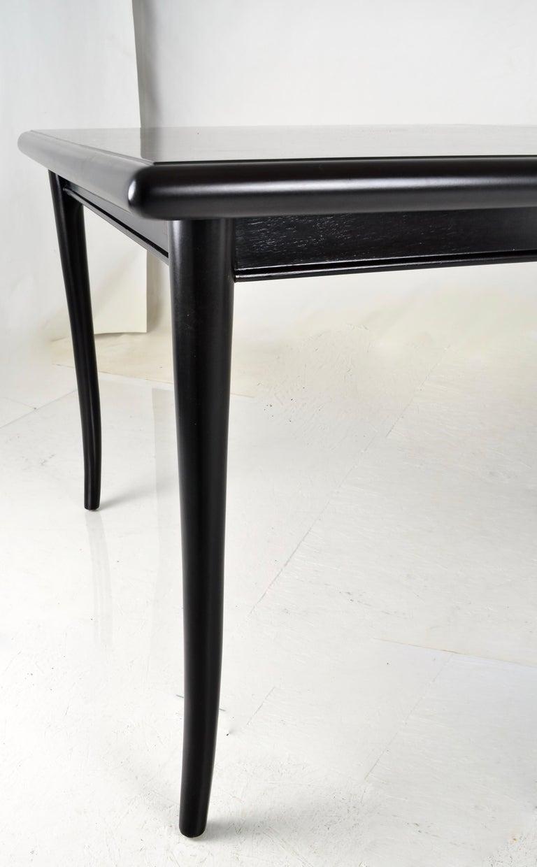 Wood Robsjohn-Gibbings for Widdicomb Sabre Leg Dining Table, USA, 1950s For Sale