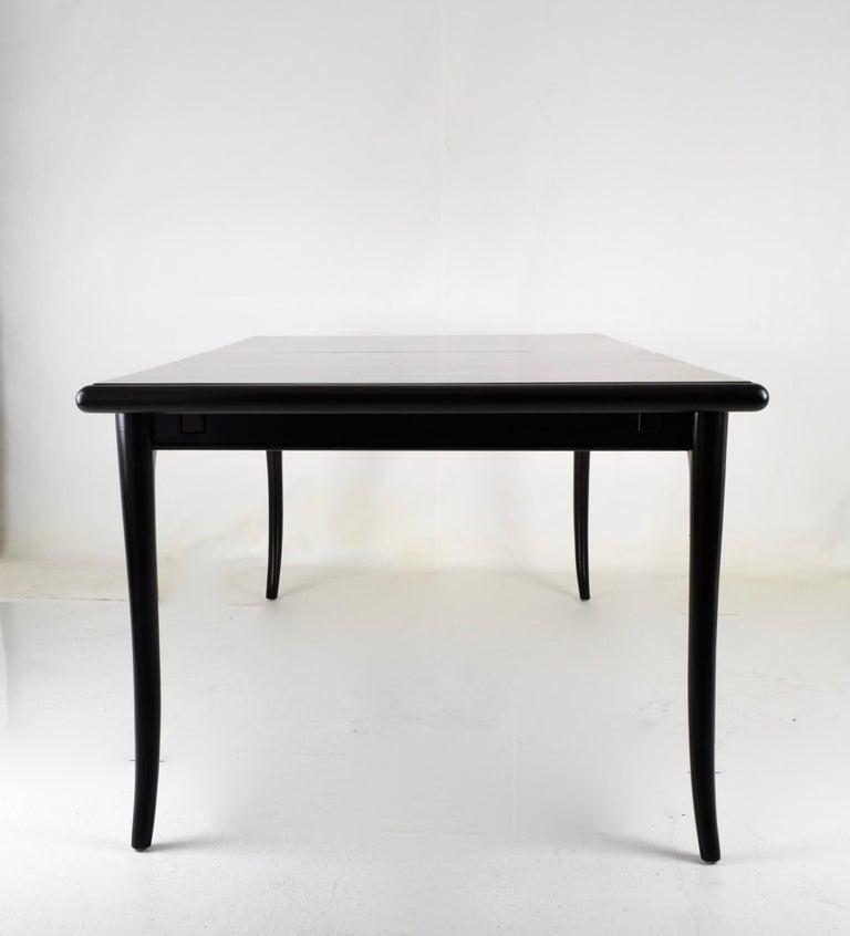 Robsjohn-Gibbings for Widdicomb Sabre Leg Dining Table, USA, 1950s For Sale 1