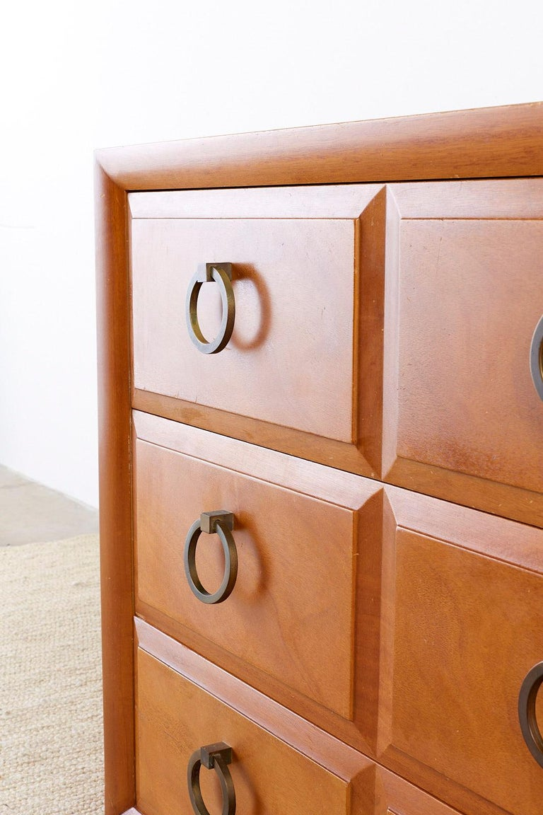 Robsjohn-Gibbings for Widdicomb Three-Drawer Chest For Sale 3