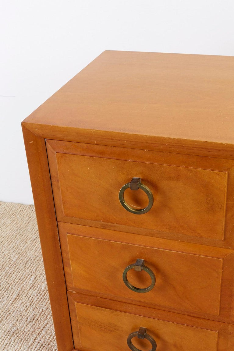 Robsjohn-Gibbings for Widdicomb Three-Drawer Chest For Sale 4