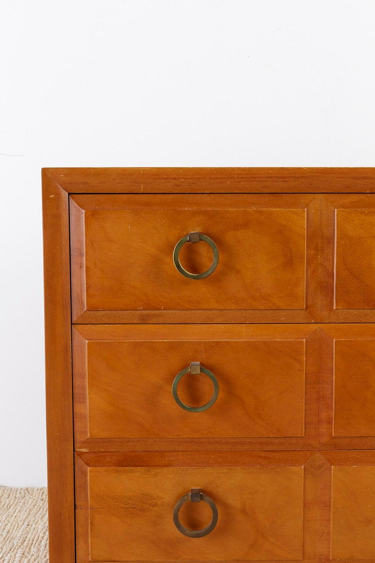 Hand-Crafted Robsjohn-Gibbings for Widdicomb Three-Drawer Chest For Sale