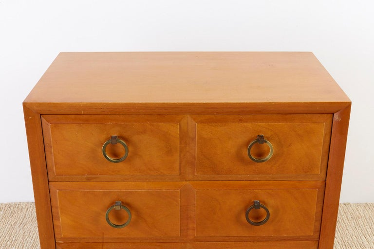 Robsjohn-Gibbings for Widdicomb Three-Drawer Chest In Good Condition For Sale In Rio Vista, CA