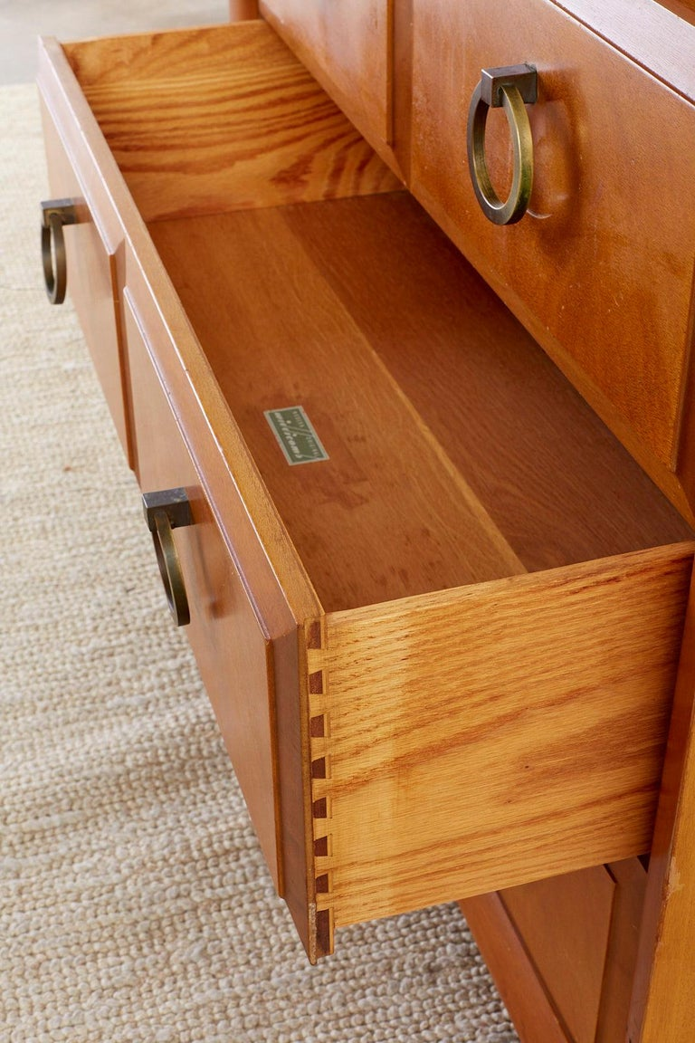 Robsjohn-Gibbings for Widdicomb Three-Drawer Chest For Sale 1
