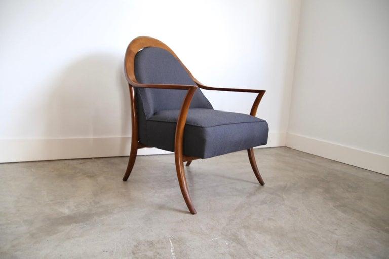Robsjohn-Gibbings Lounge Chair for Widdicomb For Sale 4