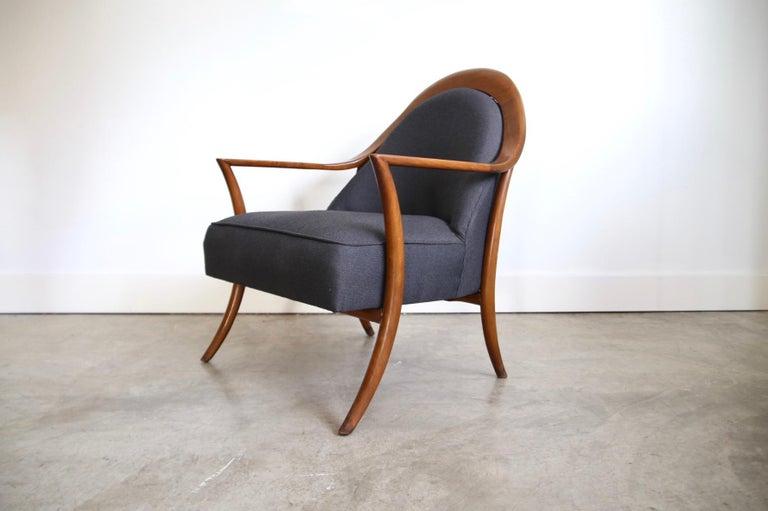 Mid-Century Modern Robsjohn-Gibbings Lounge Chair for Widdicomb For Sale