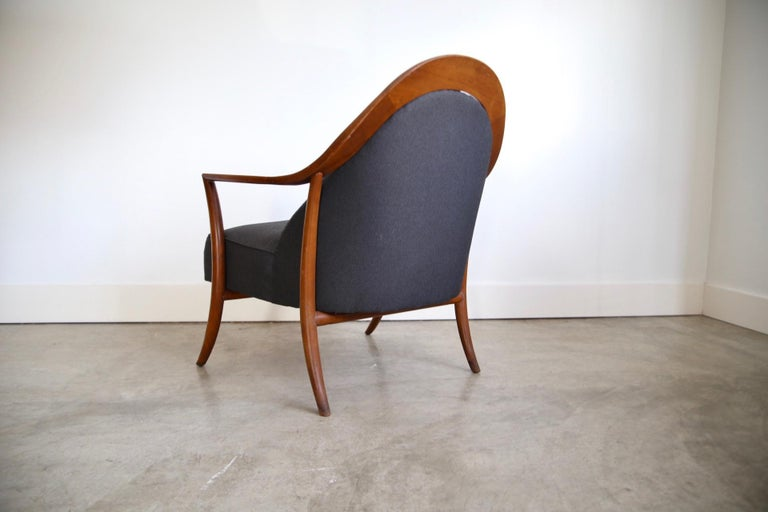 Robsjohn-Gibbings Lounge Chair for Widdicomb In Good Condition For Sale In St. Louis, MO