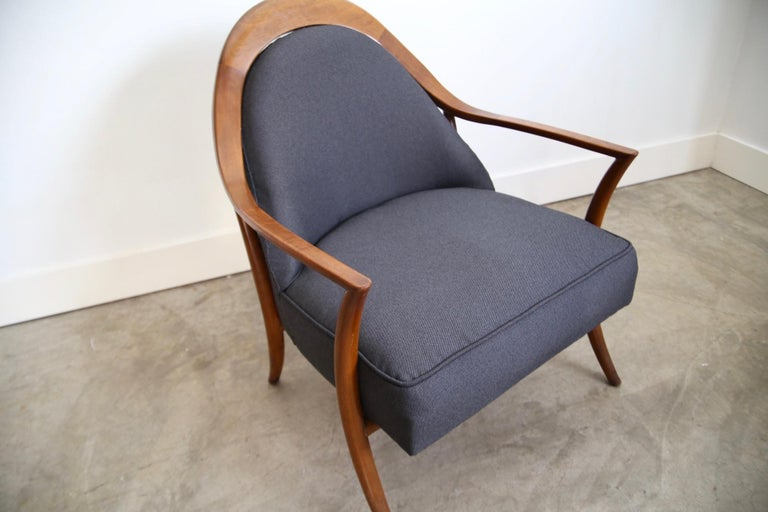 Robsjohn-Gibbings Lounge Chair for Widdicomb For Sale 1