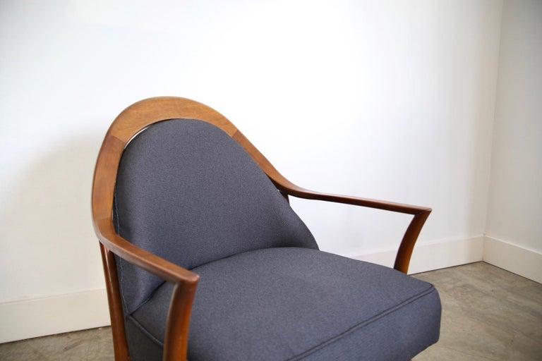 Robsjohn-Gibbings Lounge Chair for Widdicomb For Sale 2