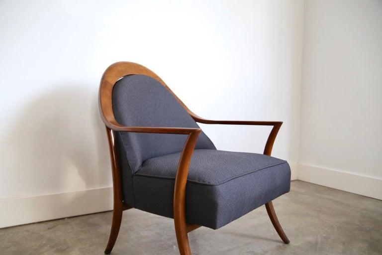 Robsjohn-Gibbings Lounge Chair for Widdicomb For Sale 3