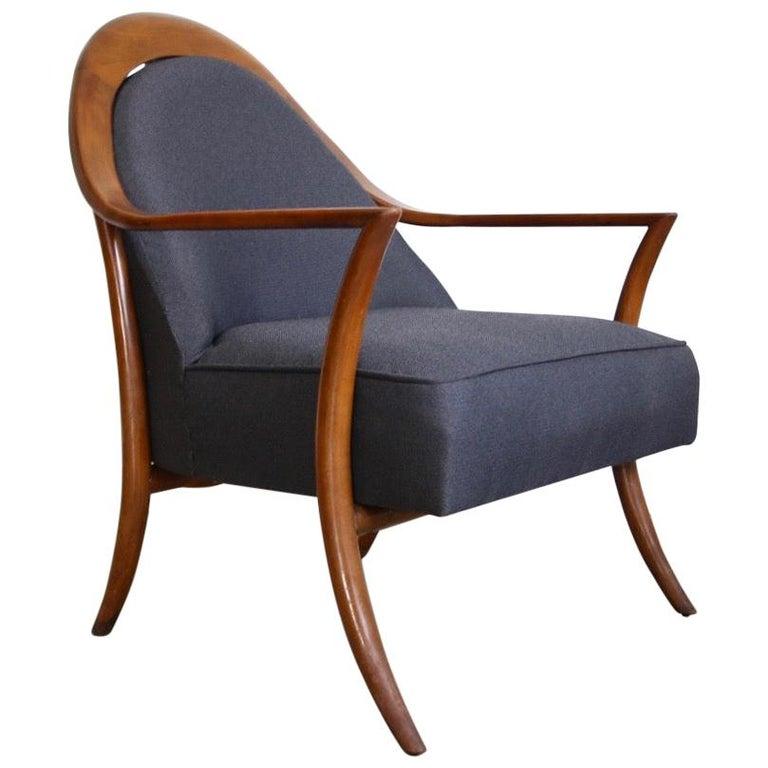 Robsjohn-Gibbings Lounge Chair for Widdicomb For Sale