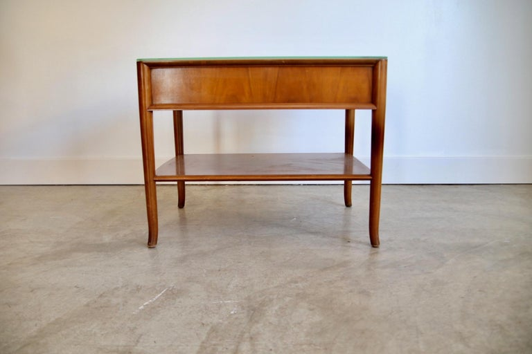 Mid-Century Modern Robsjohn Gibbings Widdicomb End Table For Sale