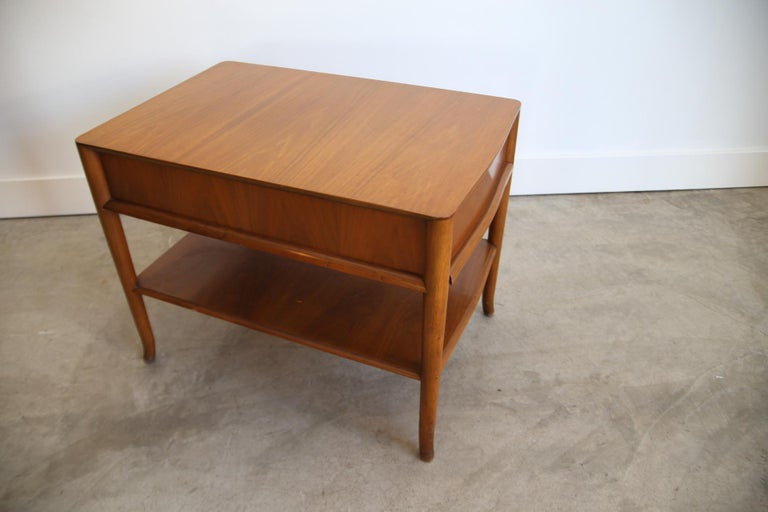 Mid-20th Century Robsjohn Gibbings Widdicomb End Table For Sale