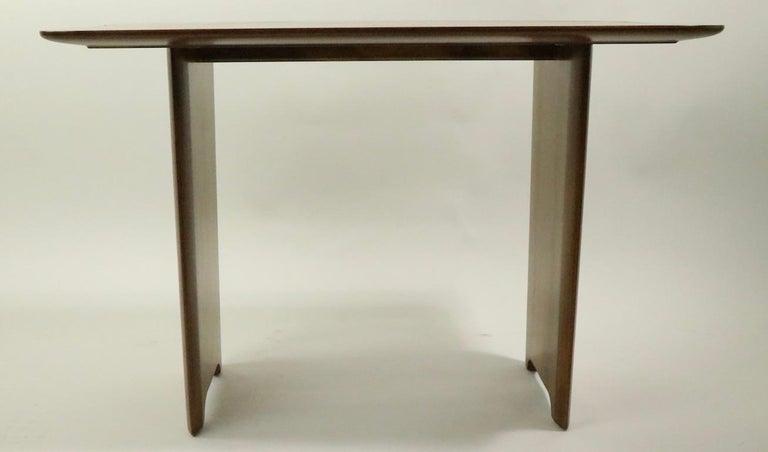 Veneer Robsjohn Gibbings Widdicomb Side End Table For Sale
