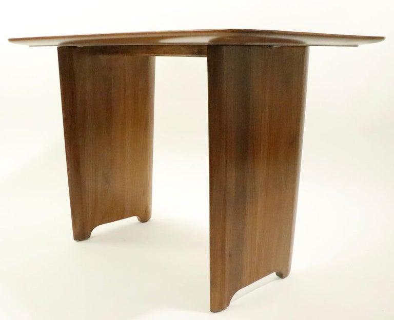 Mahogany Robsjohn Gibbings Widdicomb Side End Table For Sale