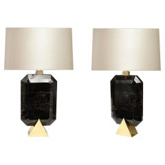 Rocco 1 Rock Crystal Lamps by Phoenix