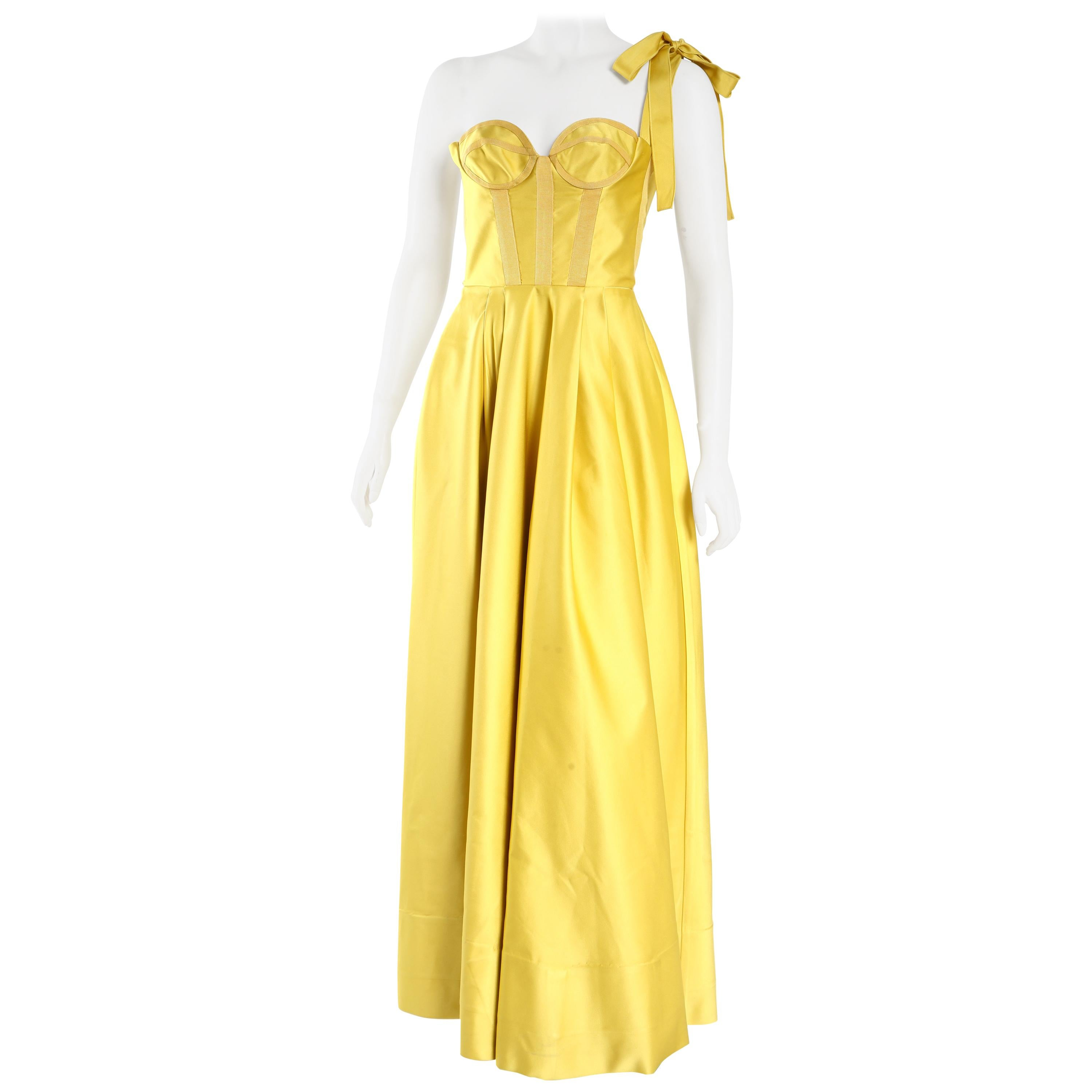 Rochas Gold Gown
