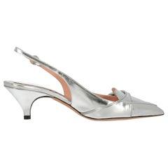 Rochas Woman Mules Silver EU 36