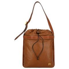 Rochas Woman Shoulder bag Camel Color Leather
