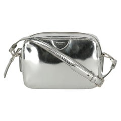 Rochas Woman Shoulder bag Silver Leather