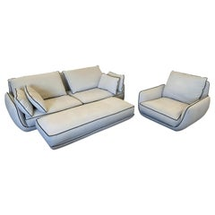 Roche Bobois Approached Sofa Set by Sacha Lakic