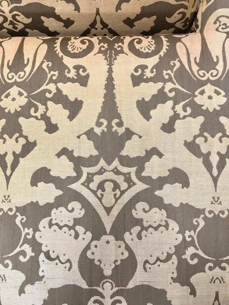 Roche Bobois Architectural Modular Sofa Sectional 3-Piece Custom Kravet Fabric For Sale 6