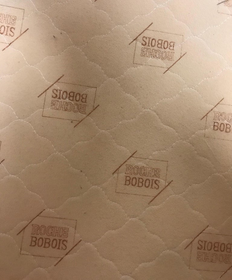 Roche Bobois Architectural Modular Sofa Sectional 3-Piece Custom Kravet Fabric For Sale 7