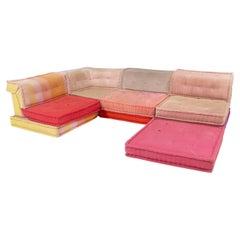 Roche Bobois by Hans Hopfer Mah Jong Missoni Home Sectional Sofa, Set of 13