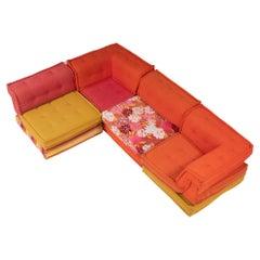 Roche Bobois by Hans Hopfer Mah Jong Sectional Sofa, Set of 12