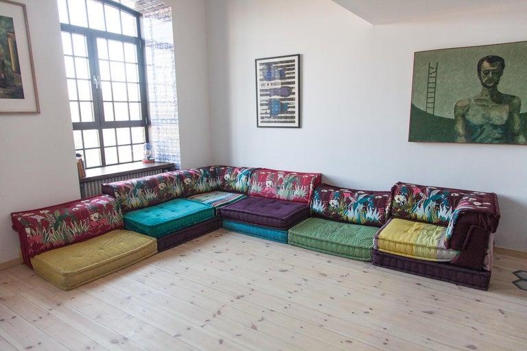 Roche Bobois Mah Jong Modular Sofa By Hans Hopfer And