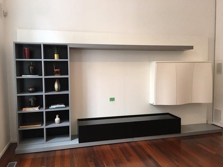 Laminate Roche Bobois Media Center/ Wall Unit For Sale